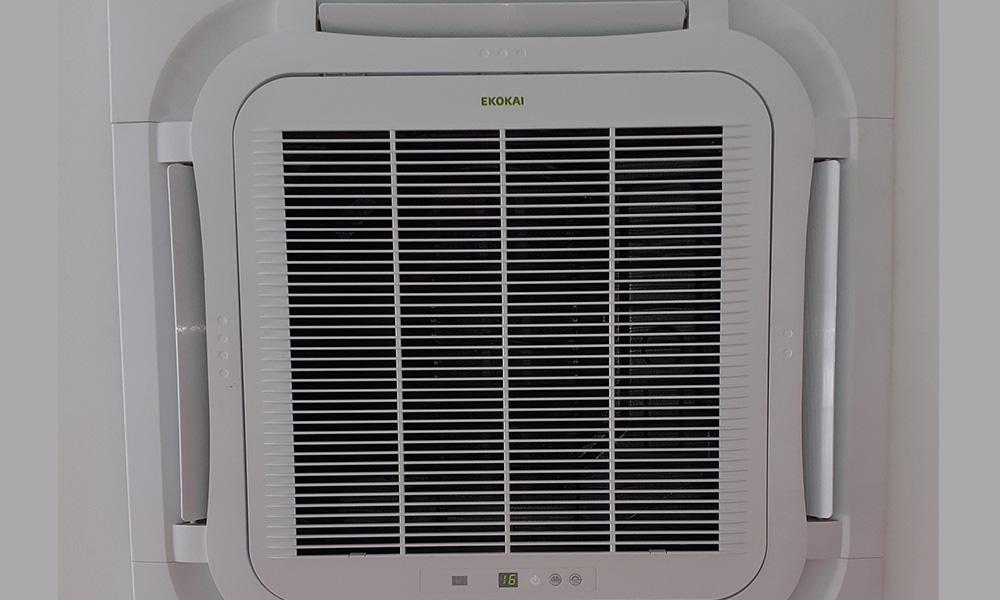 Aire acondicionado para tienda en unidad de Casette