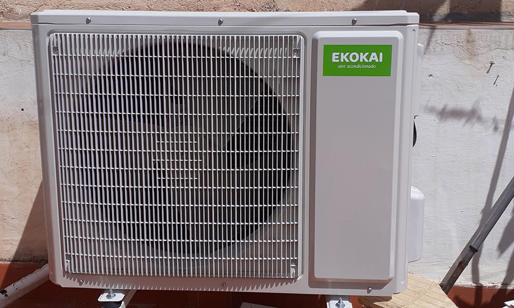 Ventilador aire acondicionado para tienda en unidad de Casette