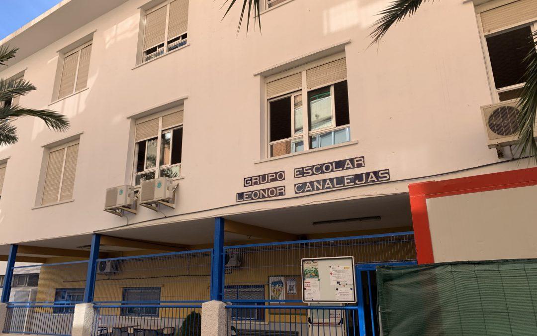 CEIP Leonor Canalejas de Benidorm, colegio seguro frente al Coronavirus Covid 19